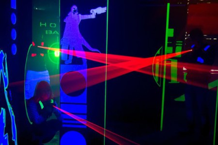 Mingolf Lasergame Badminton Thurvita Today