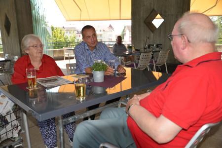 Alard du Bois - Reymond im Gespräch mit Helena Hofstetter und Christian Hofstetter
