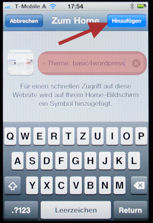 android webseite als app