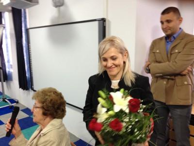 Daniela -die Leiterin des Kinderheims und der Tagesstätte -leistet undermüdlichen Einsatz