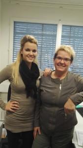 Marina Bruggmann (links) und Bettina Jud (rechts)