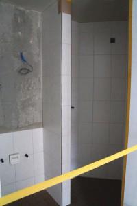 Gartenzimmer Dusche