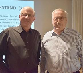 Als Nachfolger von Franzruedi Fäh wurde Dr. med. Urs Germann als Vizepräsident gewählt.