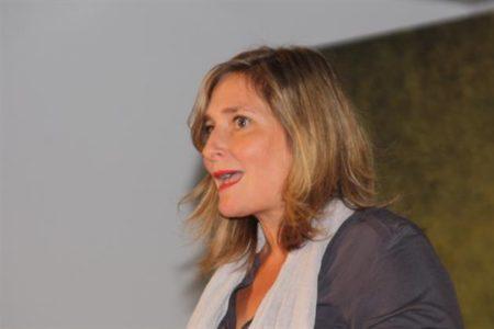 Bigna Körner, die Co-Regisseurin begrüsste die Zuschauer.